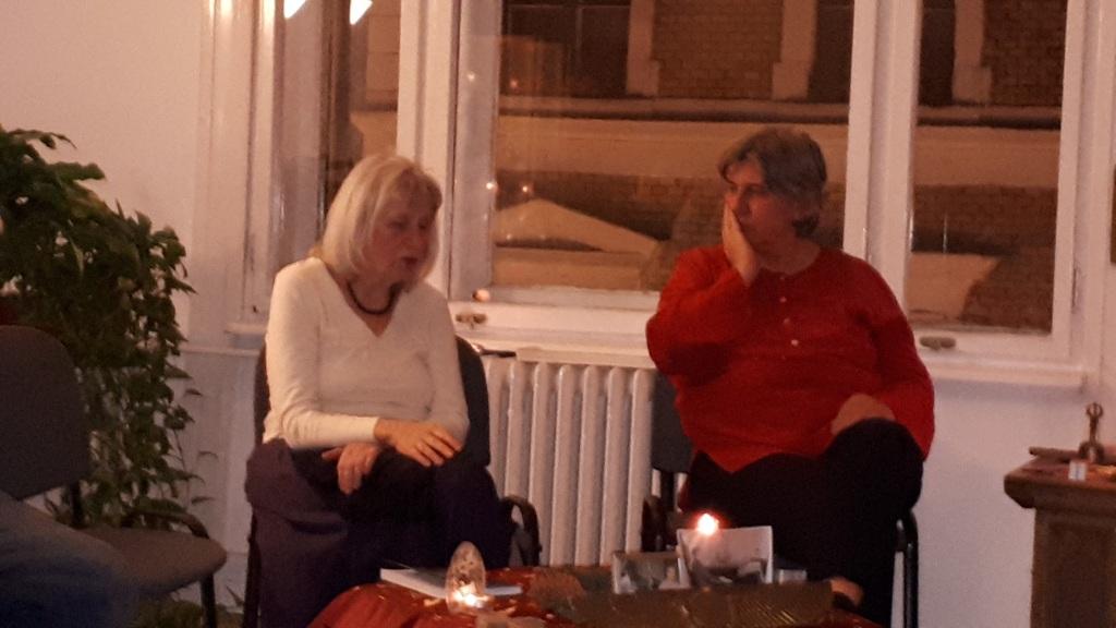 Ágota és Kati a Charon karácsonyon
